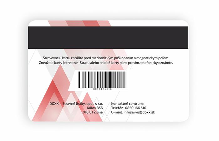 Stravovacia karta DOXX_back