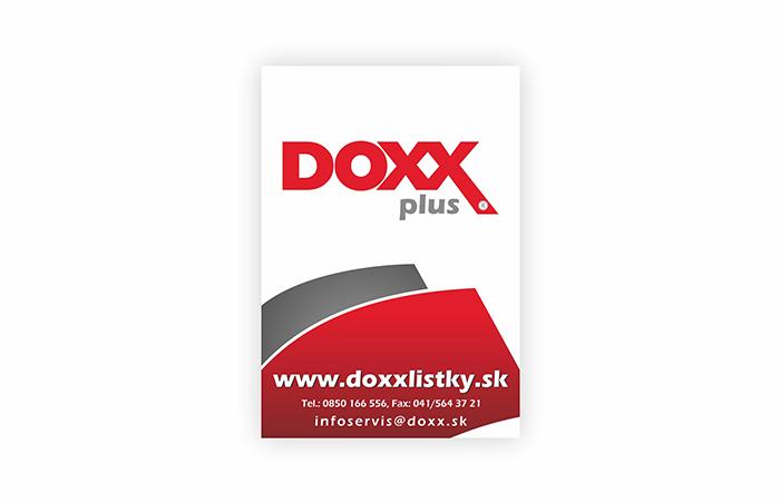 Označenie prevádzok, kde platia Benefitné darčekové poukážky DOXX Plus