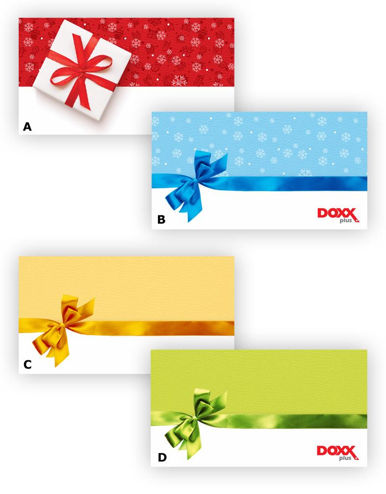 cenník obálok 11 - Exkluzívne obálky na benefitné poukážky DOXX Plus