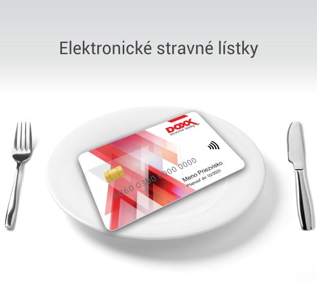 DOXX stravovacia karta - Úvodná stránka