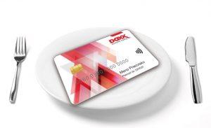 DOXX stravne listky karta na tanieri 300x183 - Šikovné ONLINE riešenia
