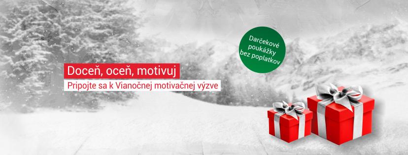 Univerzálny Vianočný darček - Benefitné darčekové poukážky DOXX Plus
