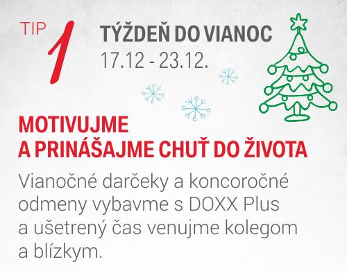 DOXX univerzalne darcekove poukazky tyzden do Vianoc - Úvodná stránka