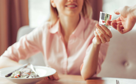Papierove gastrolistky DOXX Stravne listky - Stravné lístky