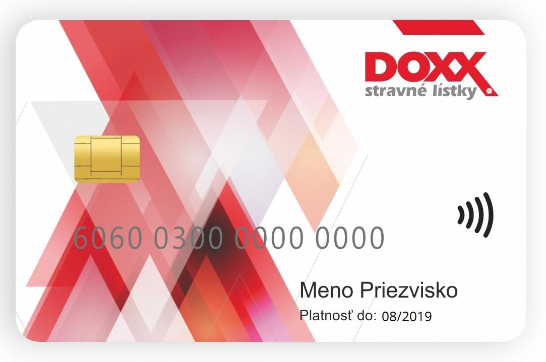 DOXX Stravne listky Karta DOXX do 2019 - Predĺženie platnosti Kariet DOXX na 5 rokov