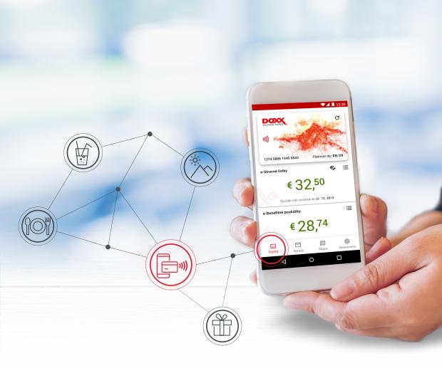 DOXX Stravne listky moderne benefity vyhodne objednajte smart produkty - Úvodná stránka