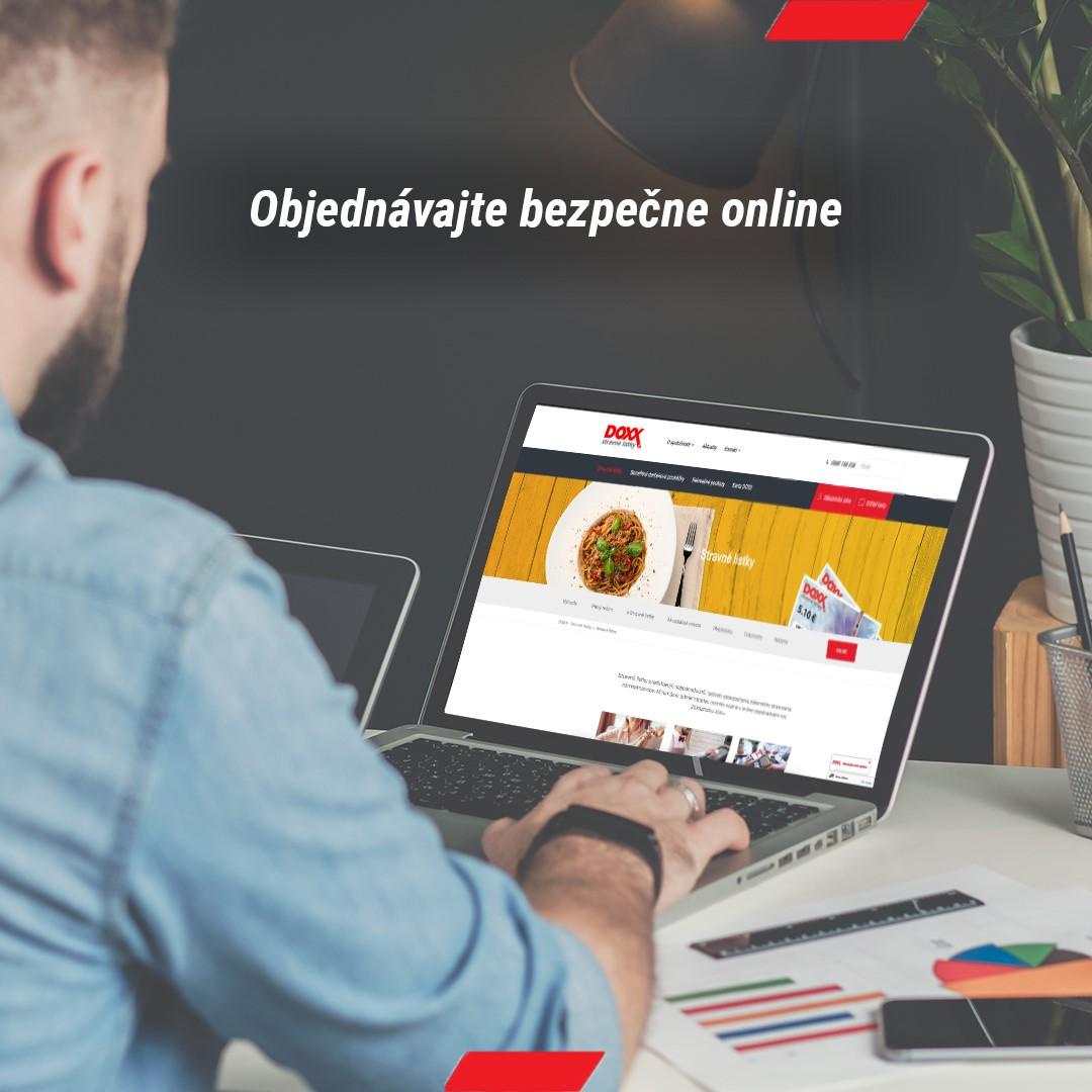 DOXX Stravne listky objednavajte bezpecne online - Pomôžeme vám zabezpečiť stravné lístky