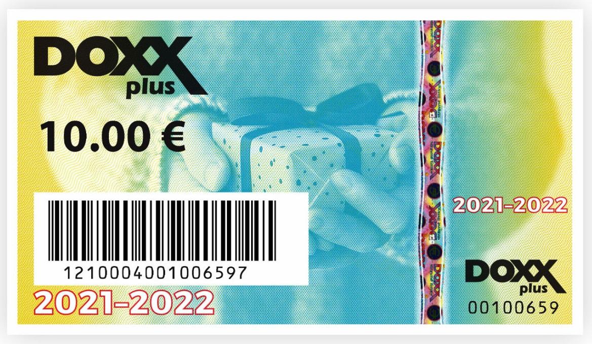 Benefitne poukazky emisia roky 2021 2022 DOXX - Nové stravné lístky na rok 2021