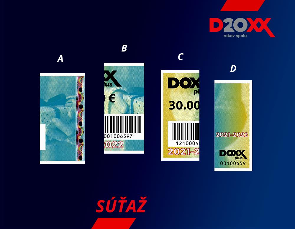 Ukončená súťaž Darčekové poukážky | DOXX - Stravné lístky