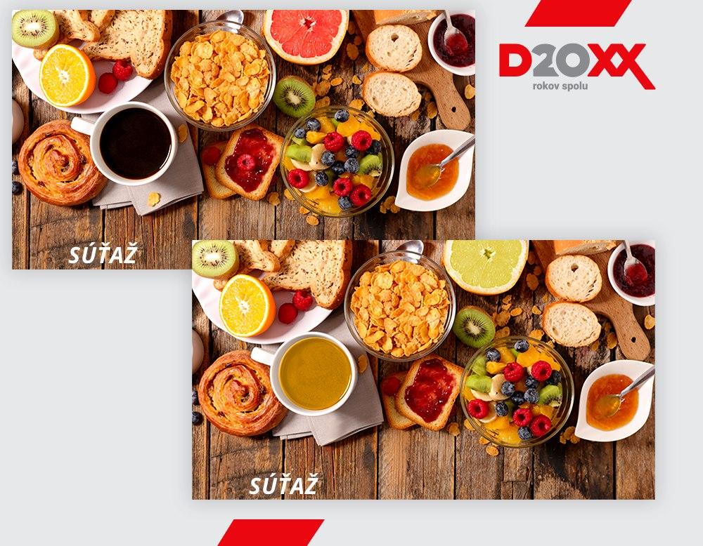 Ukončená súťaž Nájdite rozdiely | DOXX - Stravné lístky