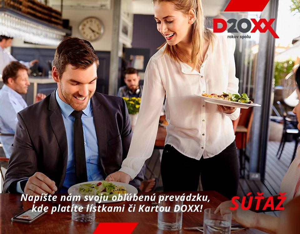 Ukončená súťaž Obľúbená reštaurácia | DOXX - Stravné lístky