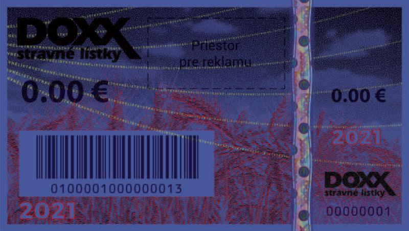 listok uv 2021 - Stravné lístky