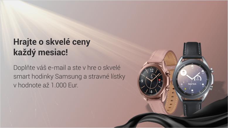 Sutaze DOXX smart hodinky Samsung - Súťaže