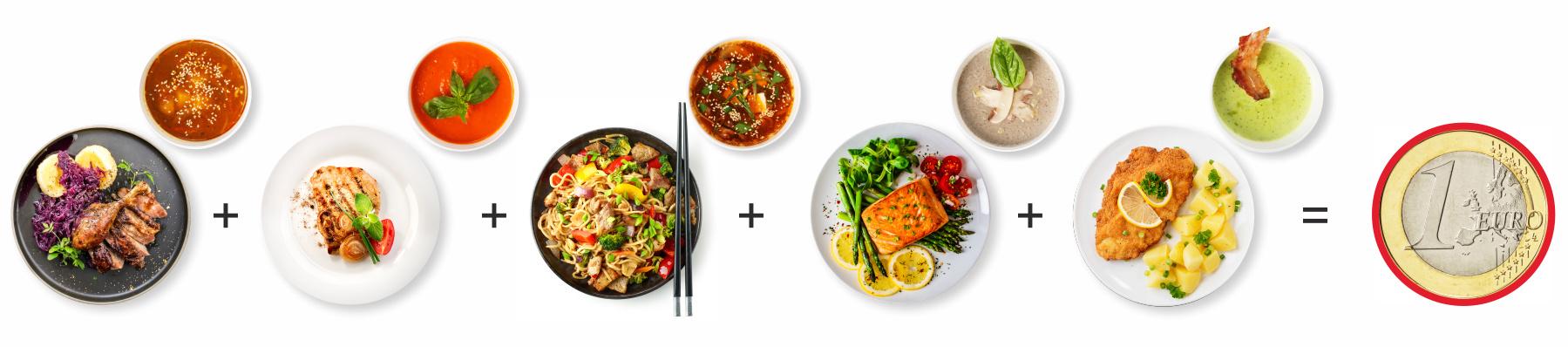 Odmena za obedy Dobry program DOXX - Elektronické stravné lístky